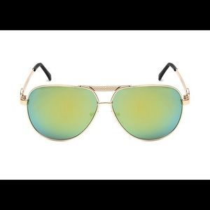 Michael Kors women polarized metal sunglasses